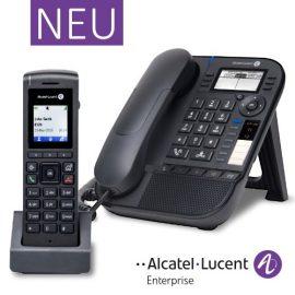 Alcatel-Lucent | Neu: Premium Deskphone 8018 und DECT 8212
