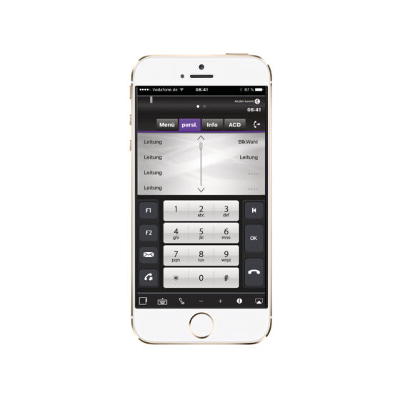 Alcatel-Lucent | IP Desktop Softphone | Smartphone